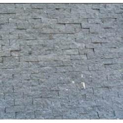 Piedra Mosaico Tronchada Recinto Negro