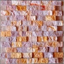 Piedra Mosaico Tronchado Arcoiris