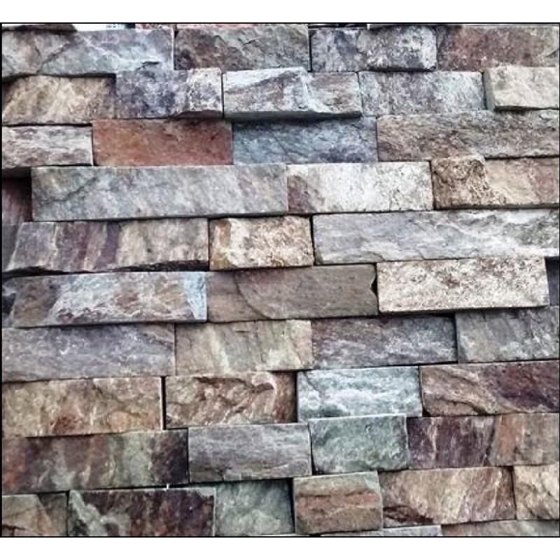 Piedra para fachadas laja santo tomas - Precio de piedra para fachada ...